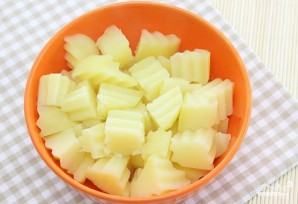 Салат из картофеля без майонеза - фото шаг 1