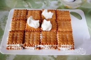 Быстрый творожный торт - фото шаг 6