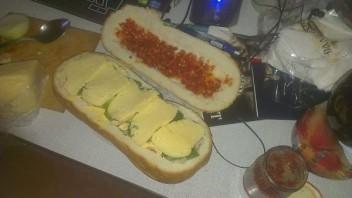 Мужской бутерброд - фото шаг 9