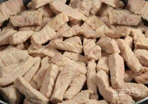 """Свинина с овощами под соусом """"Бешамель"""" - фото шаг 1"""