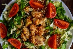 Салат из китайской капусты и помидоров - фото шаг 5