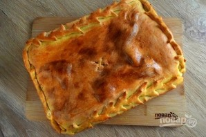 Грузинский пирог с тархуном и сыром - фото шаг 7