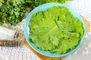 Салат с хамоном - фото шаг 2