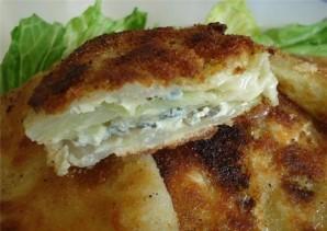 Шницель капустный с сыром - фото шаг 7