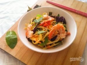 Салат из манго и креветок - фото шаг 4