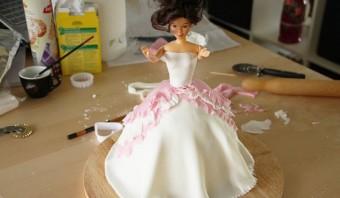 """Торт """"Кукла"""" - фото шаг 10"""
