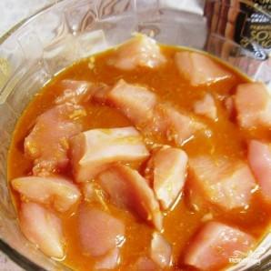 Куриный шашлык в соевом маринаде с маслинами - фото шаг 3
