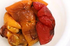 Салат из пасты, болгарского перца и фасоли - фото шаг 2