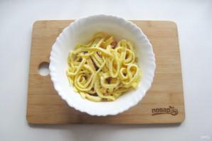 Итальянский салат с блинами - фото шаг 7