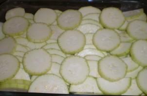 Кабачки под соусом в духовке - фото шаг 1