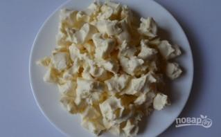 Суп сырный с креветками - фото шаг 6