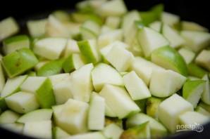 Пирог из яблочного пюре - фото шаг 4