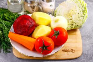 Борщ с помидорами - фото шаг 1