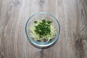 Салат с редькой и языком - фото шаг 7
