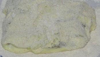 Шницель капустный с сыром - фото шаг 5