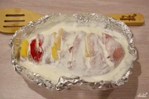 Мясо под сметанным соусом в духовке - фото шаг 3