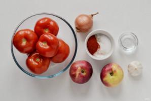 Домашний кетчуп из помидоров на зиму - фото шаг 1