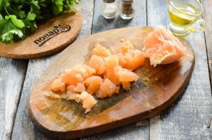 Салат с грейпфрутом и кедровыми орешками - фото шаг 2