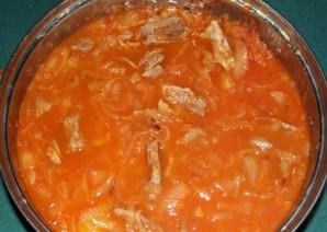 Солянка из говядины - фото шаг 5