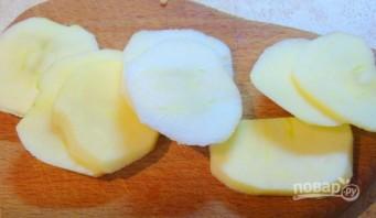Салат со свеклой и яблоком - фото шаг 2