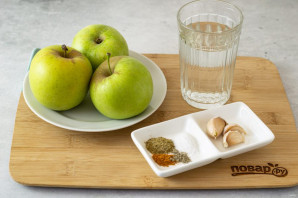 Соус из яблок на зиму - фото шаг 1
