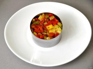 Мильфей с мясом, гречкой и овощами - фото шаг 21