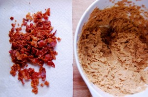 Сахарное печенье с беконом - фото шаг 2