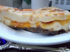 """Торт с джемом и сыром """"Филадельфия"""" - фото шаг 12"""