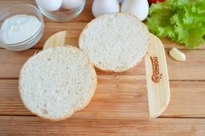 Бутерброд с яйцом (мастер класс) - фото шаг 2