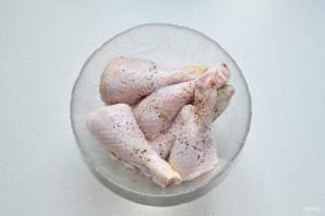 Картошка с куриными ножками в рукаве - фото шаг 2
