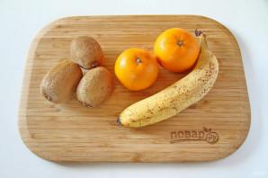 Пальма из фруктов - фото шаг 1