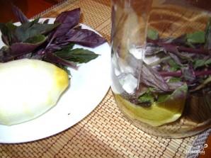Базиликовый лимонад - фото шаг 2