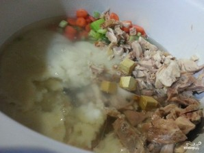 Крем-суп из индейки для ребенка - фото шаг 3