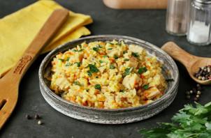 Рис с копченой курицей - фото шаг 9
