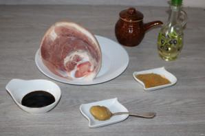 Маринад для свиной рульки в духовке - фото шаг 1