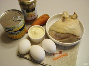 Салат из курицы с майонезом - фото шаг 1