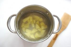 Грибной суп с клецками - фото шаг 3