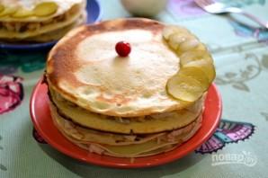 Порционные блинные тортики - фото шаг 12