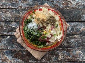 Люля кебаб на сковороде без шпажек - фото шаг 5