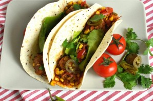 Такос с фрикадельками по-мексикански - фото шаг 7