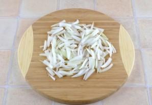 Простой салат с грибами - фото шаг 2