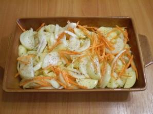 Бедро куриное с картошкой в духовке - фото шаг 4