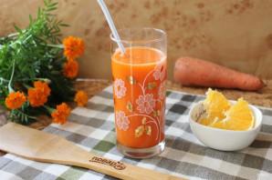 Морковный напиток - фото шаг 9