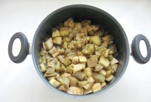 Закуска из баклажанов с помидорами на зиму - фото шаг 4