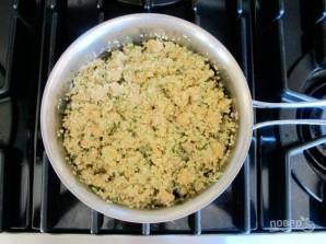 Греческий салат с киноа - фото шаг 2