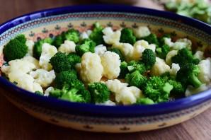 Запеканка из брокколи и цветной капусты - фото шаг 12