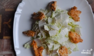 Салат с сулугуни и курицей - фото шаг 4