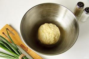 Открытый пирог с яйцом - фото шаг 3