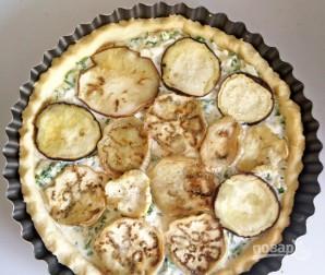 Пирог с баклажанами - фото шаг 5