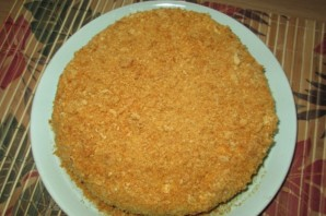 Вегетарианский торт без яиц - фото шаг 10